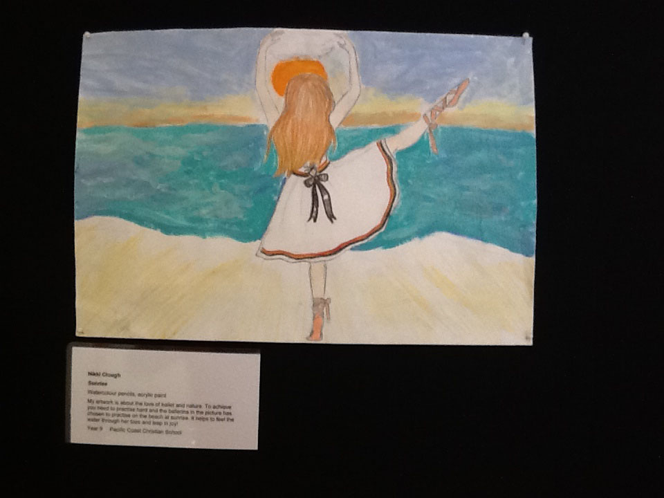 Faber Castell Calendar Art Competition : Pacific coast write up basil sellers student art prize