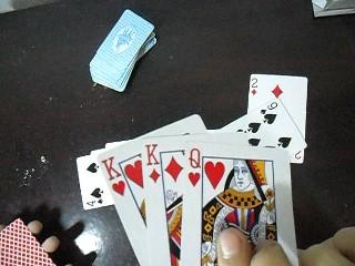 Cách gian lận bài cào ( 3 lá)