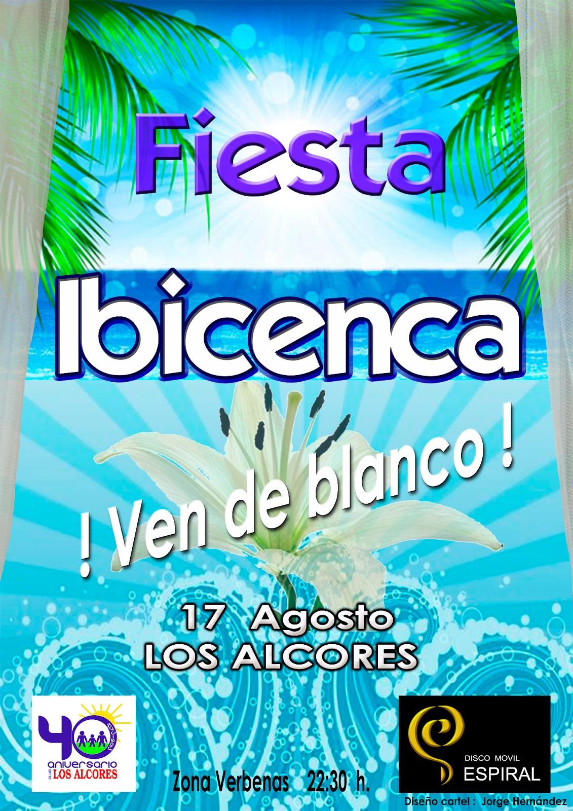 Disco m vil espiral fiesta ibicenca alcores 2013 - Fiesta ibicenca ...