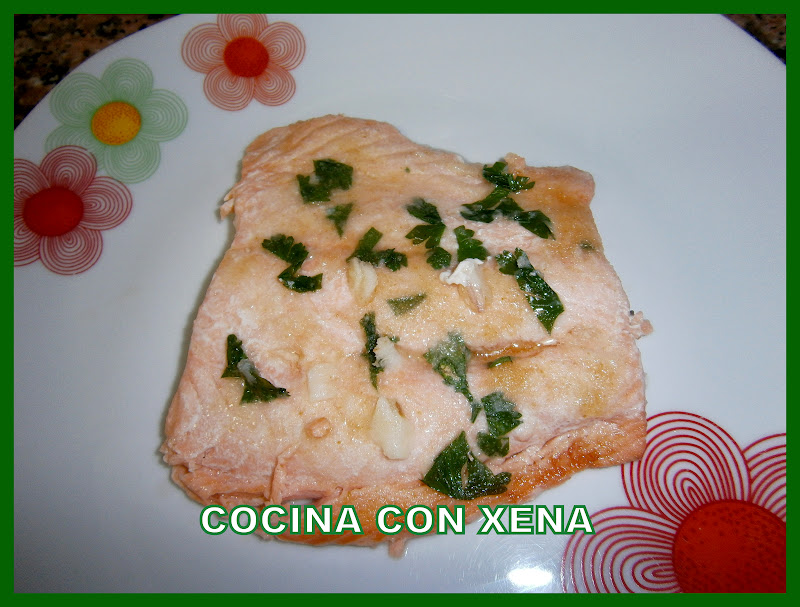 Cocina con xena filete de salm n en microondas - Cocina con microondas ...