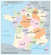 MAPA REGIONAL DE FRANCIA