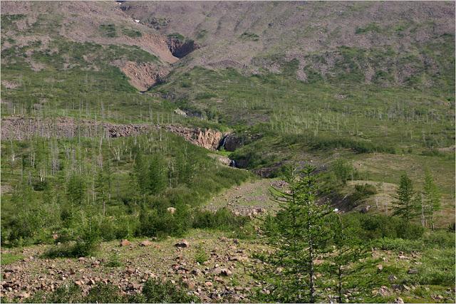 Taimyr-Poxod-Glubokoe-Kyltellar-Bugar-Ekekoy-гора Экэкой-озеро Бугар.