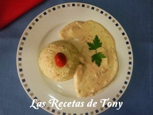 Las recetas de tony pez espada a las almendras for Pez espada en salsa de almendras