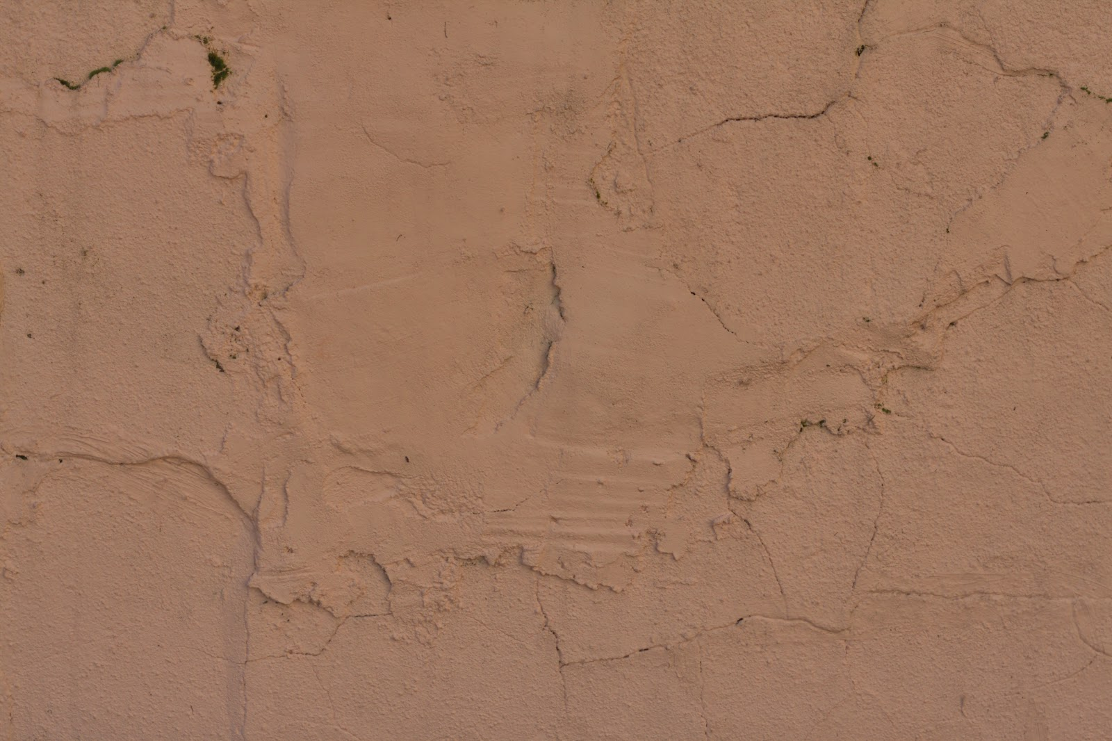 Stucco wall pink cracks feb_2015 texture 4770x3178
