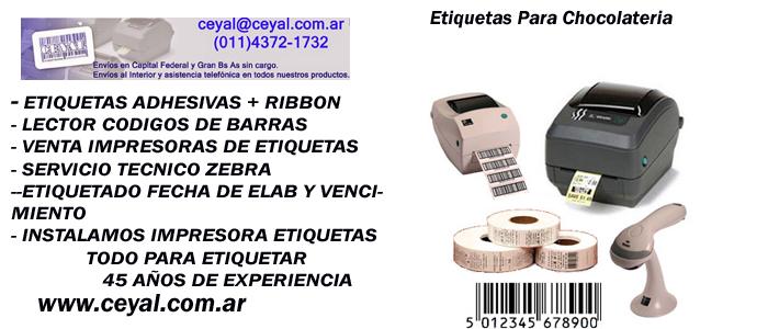 rollos codigos de barras Datamax envios interior argentina