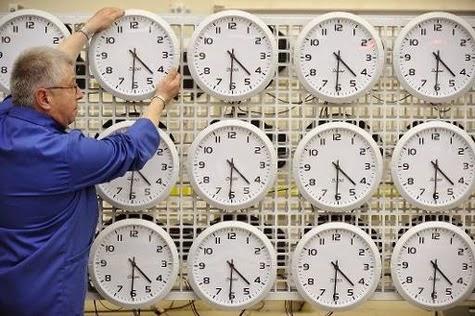 Le blog de gilles passage europ en l heure d hiver - Date changement d heure ...