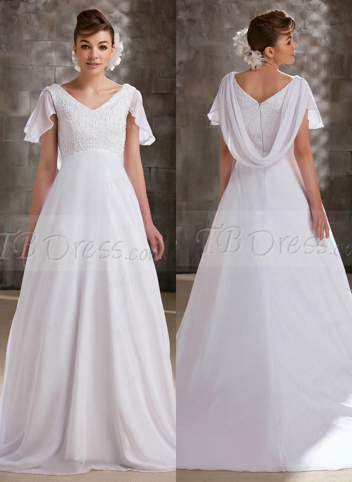 Maternity Wedding Dresses LA BOHEME