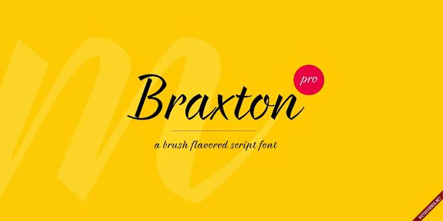 [Script] Braxton Regular Việt hóa