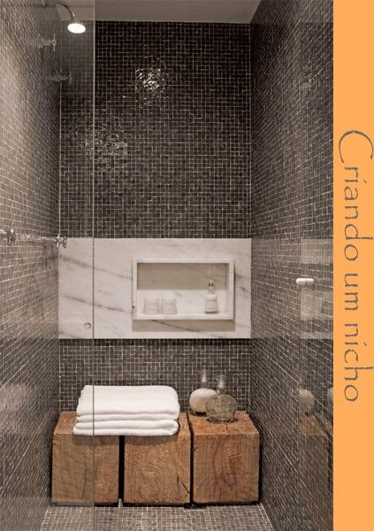 Gabinete Para Banheiro Como fazer nicho parede banheiro -> Fazer Nicho Banheiro