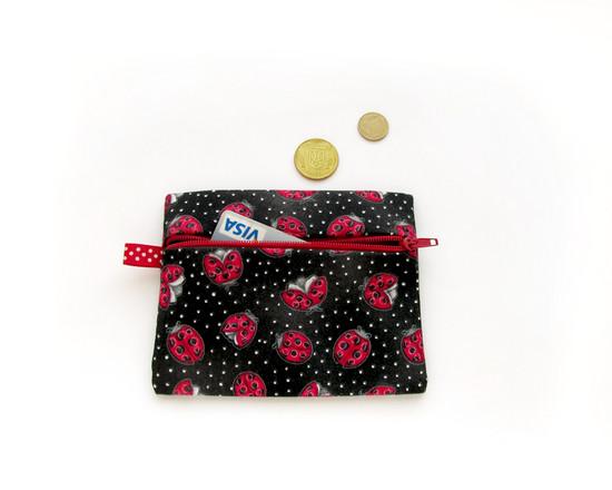 ladybirds Zipper Purse, кошелек для монет