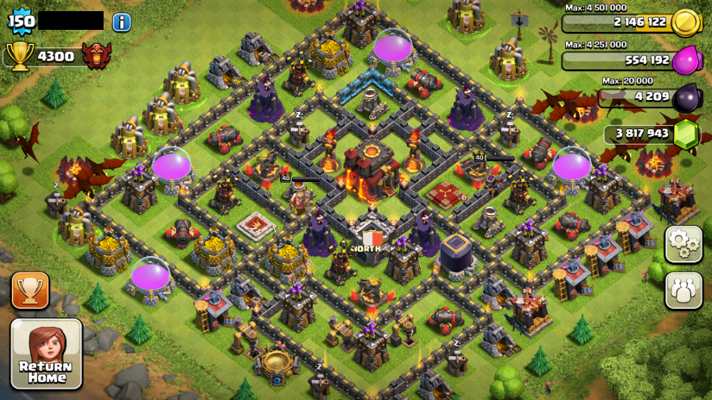 Clash Of Clans Pirater 3.7.1 (Android & iOS - PC)  GamesHackerEst