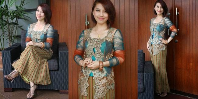Model Kebaya Modern Yang Simple