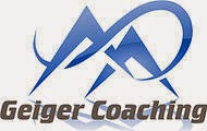 Sponsor, Coach, & Friend: Thank you Geiger Coaching