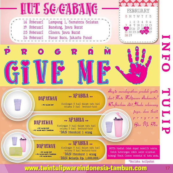 Program Give Me Five 2016