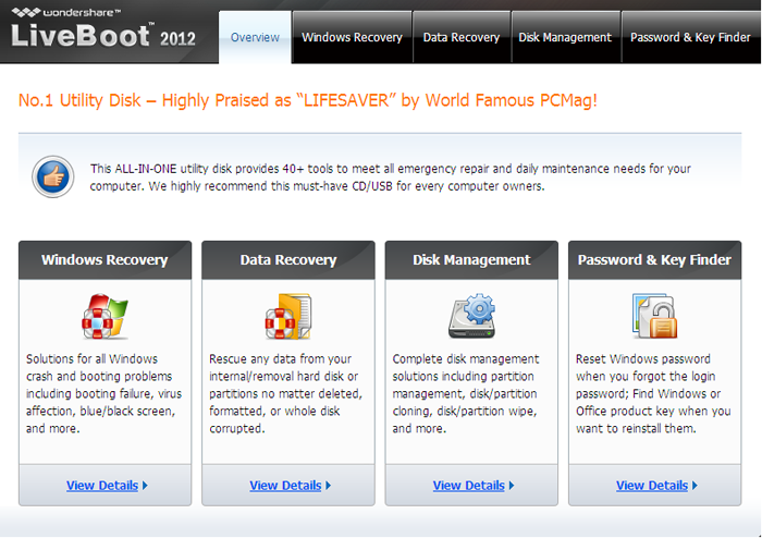 Wondershare LiveBoot v7 0 1 12 Retail ISO + Portable | All about