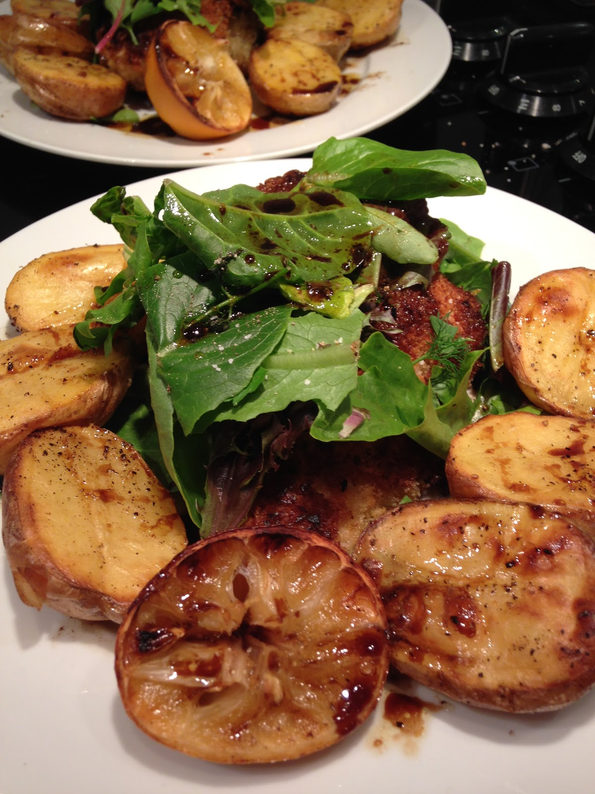 Recipe Of The Week: Chicken Milanese With Spring Greens