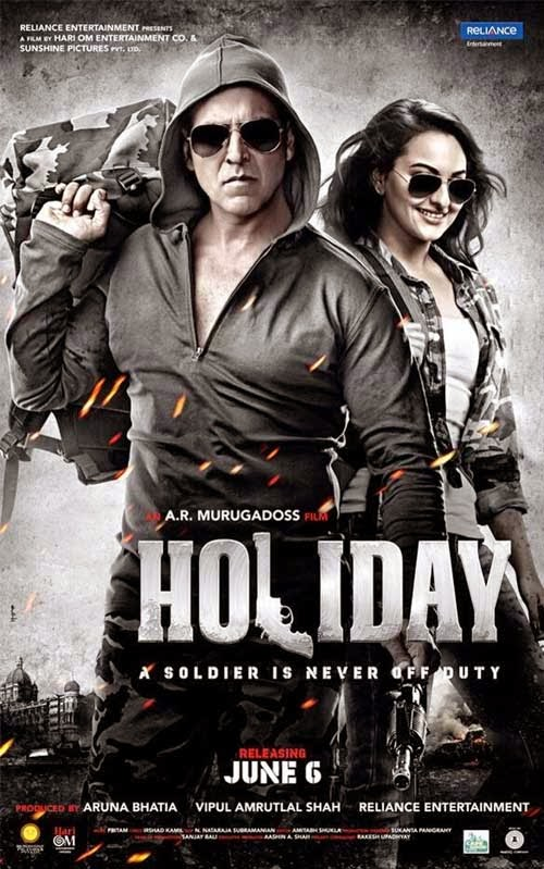 Holiday - A Soldier Is Never Off Duty poster