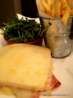 Croque Monsieur at Madeleine Cafe