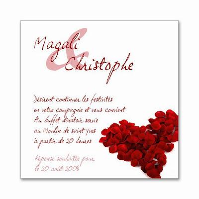 Modele carte d invitation mariage