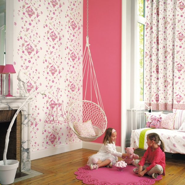 Papel pintado papel pintado infantil my room for Papel decomural infantil