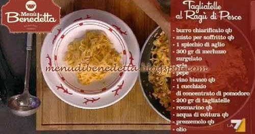 Ricette della torta tagliatelle al rag di pesce ricetta - Cucinare merluzzo surgelato ...
