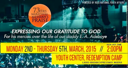 73 hours of praise non-stop