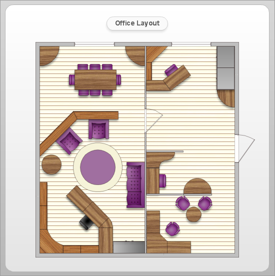 Foundation dezin decor simple office layout for Office layout planner free