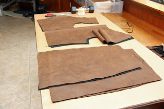 Costume Suede or Distressed Suede