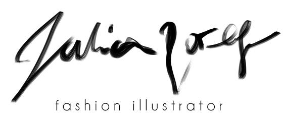 טליה צורף- מאיירת אופנה