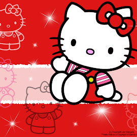 Wallpaper Hello Kitty @ Digaleri.com