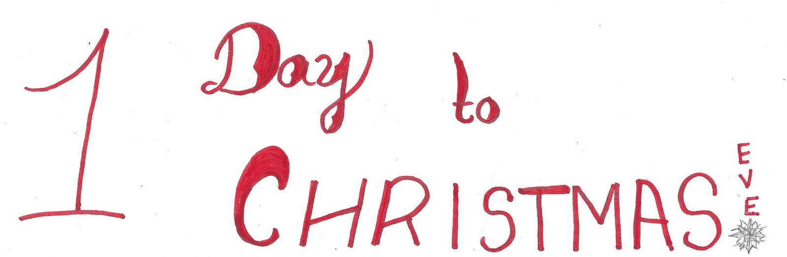 1 day to christmas drawings flowers navidad so finally tomorrow is - Tomorrow Is Christmas
