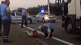 Погоня за фурой в Гродненской области