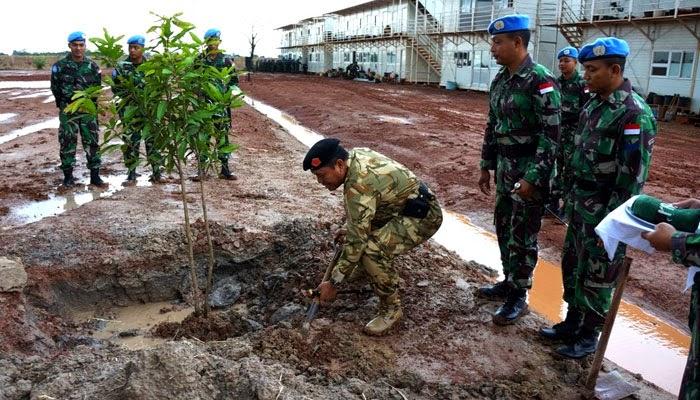 Komandan PMPP TNI Resmikan Camp Garuda Konga XXXVII-A di Afrika