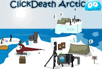 ClickDeath Arctic walkthrough.