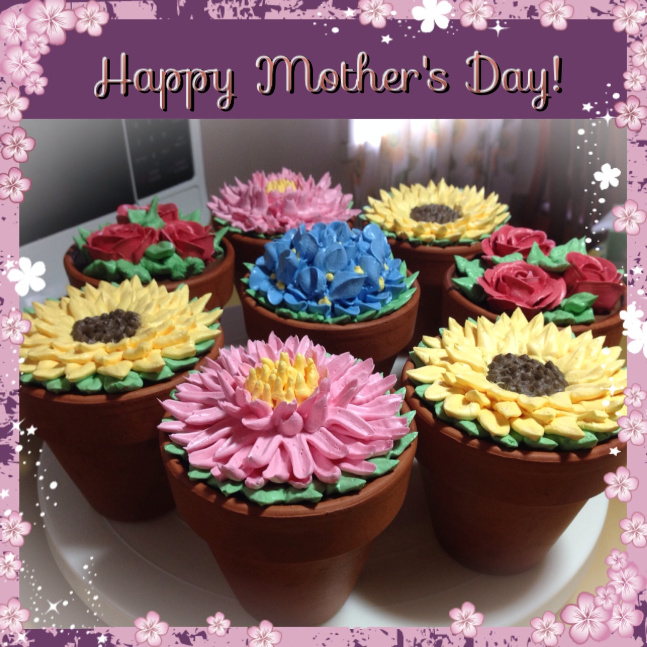 I\u0027ve been thinking about buying those silicone flower pots I\u0027ve been seeing online lately but they seem to only come from the UK or US and are very ... & Heart of Mary: Flower pot cakes