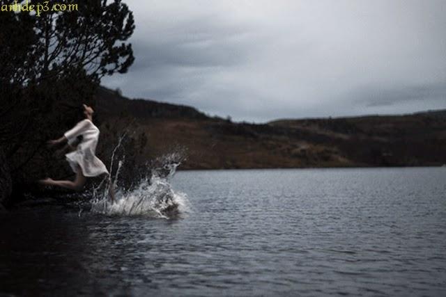 Sự kết nối con người hòa mình vào thiên nhiên hình ảnh đẹp