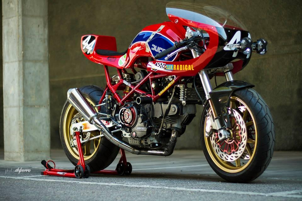 Racing Caf U00e8  Ducati  U0026quot Endurance U0026quot  By Radical Ducati