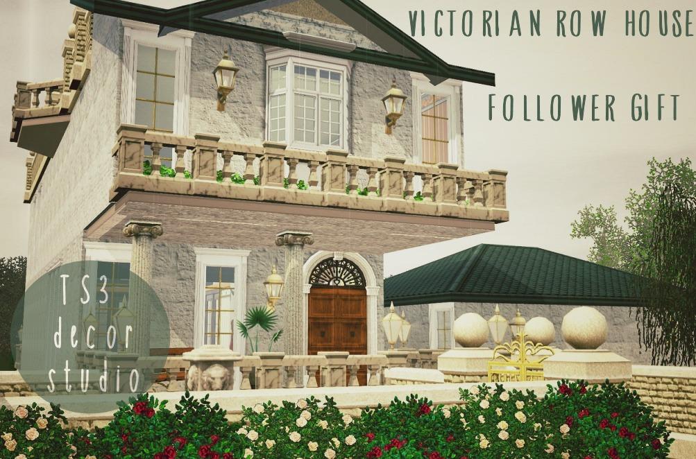 my sims 3 blog: victorian row housets3 decor studio