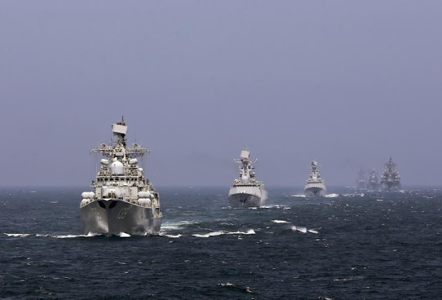 Since 2011, Russia and China have conducted regular joint exercises