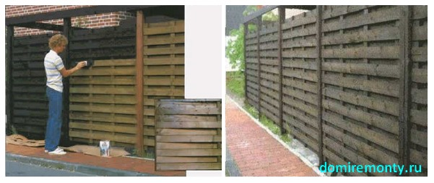 Защитить деревянные строения своими руками