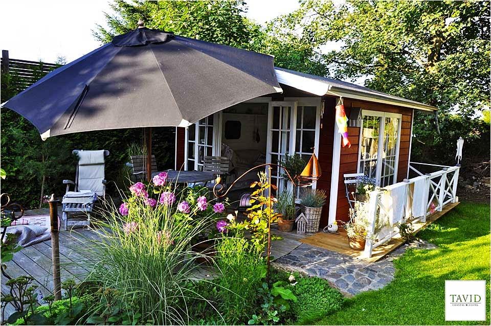 Gartenhaus schwedischer stil  Schwedisches Gartenhaus – Maritime Impressionen von Innen ...