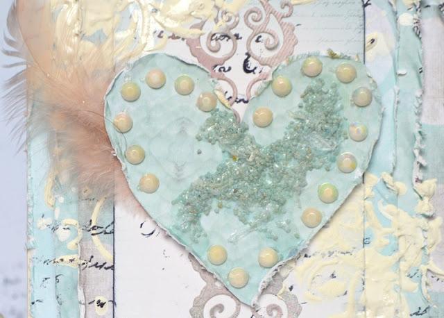 MISSING BEACH CARD BY AGNIESZKA BELLAIDEA MIXED MEDIA 13 ARTS