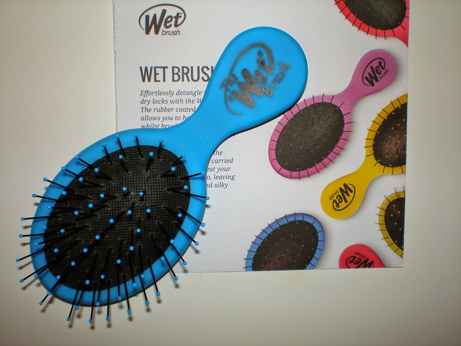 The Wet Brush squirt - Blue
