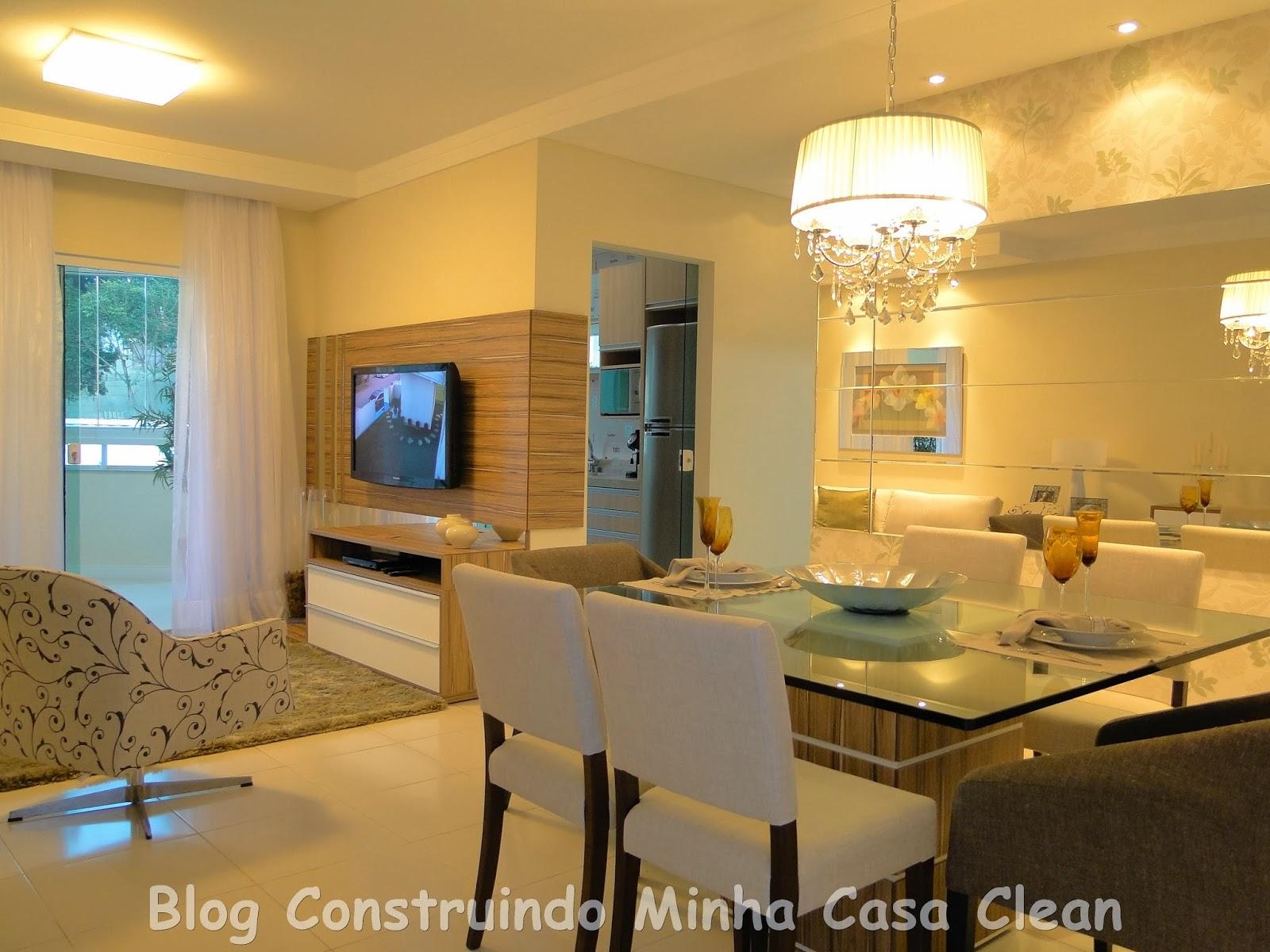 Construindo Minha Casa Clean: Como Decorar a Sala de Jantar? #B27C19 1600 1200