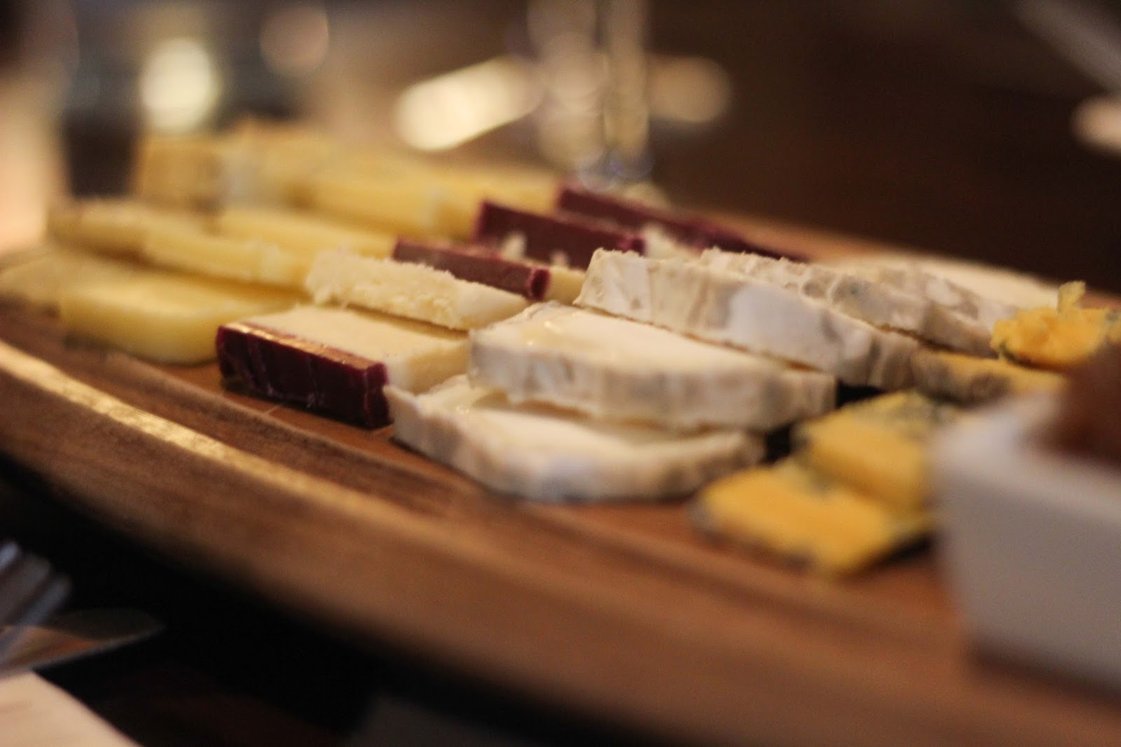 The Decanter Leeds Wine Bar Cheese Board