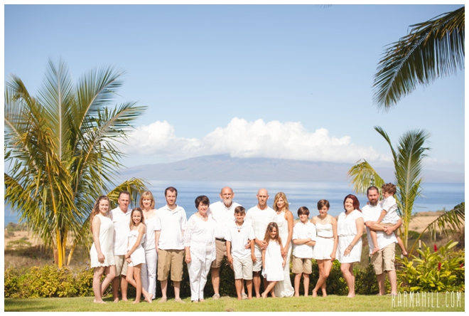 Maui Family Reunion Portrait