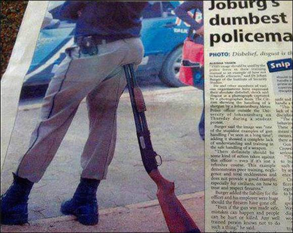 Dumbest Policeman