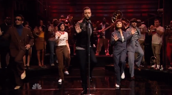 Justin Timberlake canta Pusher Love Girl no Jimmy Fallon.