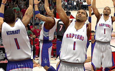 NBA 2K13 Toronto Raptors Home Classic Jersey T-mac