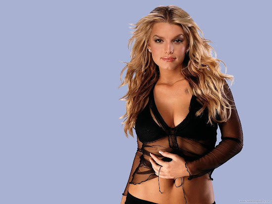 Beautiful Singer Jessica Simpson Wallpaper